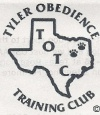 Logo for Tyler Obedience and Training Center